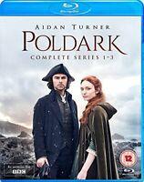 Poldark: Complete Series 1-3 [Blu-ray] [DVD][Region 2]