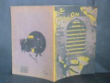 LE CARILLON Illustré HINAULT CABARET Chanson PARIS Montmartre Boulevards ca 1908