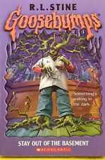 Stay Out of the Basement Goosebumps by R.L. Stine very good used cond paperback