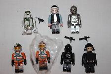 Star Wars Kubrick Series 6 Luke X wing Chase Wedge TIE pilot R4-M9 RA-7 Rebel