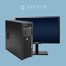 HP Z420 Workstation E5-1620 4-Core 3.60GHz /16GB/2TB+SSD /24