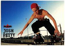 Josh Petty Inline Skater #68 Fleer Adrenaline 2000 Silver Text Card (C309)