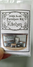 New ListingDollhouse Miniatures 1:144th Scale Kitchen Furniture Kit - Retired ?