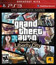 Grand Theft Auto Liberty City Greatest Hits PS3 Game Brand New - Fast Ship