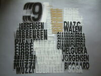 NOME-NUMERI MISTI UFFICIALI UDINESE HOME/AWAY OFFICIAL LOOSE MIX NAMES-NOS PL SZ