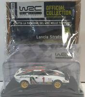 LANCIA STRATOS  HF AUTO LEGGENDARIE DA RALLY WRC N.7 SCALA 1:24