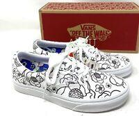 VANS ERA U-color Floral Low Top White Men's Size Sneakers VN0A4U391UH