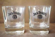 Jack Daniels Old No 7 Brand Rocks Tumbler Shot Glass Set 2 JD