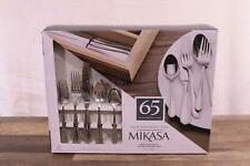 Mikasa Sinclair 65-Pc 18/10 Stainless Steel Flatware Service for 12 Polished
