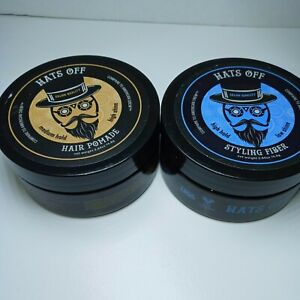 Hats Off Styling Hair Pomade And Styling Fiber