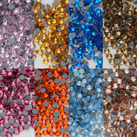 HotFix Rhinestones FlatBack Crystal Thermal Adhesive Iron On Stones Nail Art DIY
