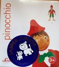 Sevi 15 cm Pinocchio Jumping Jack Puppet