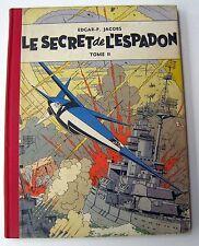 BLAKE ET MORTIMER LE SECRET DE L ESPADON T2 REED 1954 BON ETAT