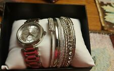 CERENTINO WOMENS WATCH /BRACLET SET