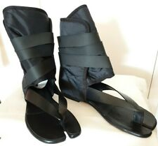 £ 760 nuevo Maison Marni Margiela cuero/nailon Tabi Zapatos Talla 37