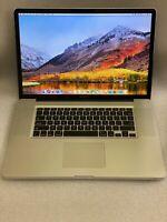 "Apple Macbook Pro 17"" / Intel i5 2.53GHZ / 8GB RAM / 1TB HD. A1297.   WARRANTY"
