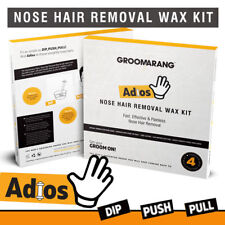Nasal Hair Removal Wax Kit Painless Effective Safe Quick Beads Nose Ear Hairs 👨