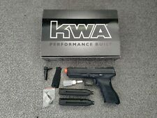New listing KWA ATP LE Full Size Airsoft GBB Gas Blowback Pistol W/ Box And Extra Mag