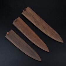 Japanese Gyuto Chef's Knife Sheath Wood Saya Knife Case Sheath Bag 8 9 10 12''