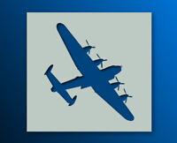 REUSABLE AVRO LANCASTER BOMBER STENCIL SPRAY MASK MYLAR 190 MICRON BBMF WW2