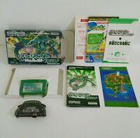 NINTENDO Pokemon Emerald GBA Game Boy Advance Manual Map Box Japanese Version
