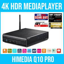 HIMEDIA™ Q10 PRO 4K (Ultra-HD) HDR & 3D Android Media Player / Smart TV Box
