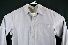 ExOfficio Men's Sz Large Fishing Hiking Shirt Button Front Vented Convert Sleeve