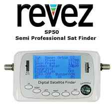 REVEZ SP50 - Semi Professional Satellite Finder Meter Tool Inc Sat Battery Pack