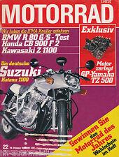 Motorrad 22 80 Bajaj Chetak BMW R 80 GS R 80/7 Kawasaki KDX 175 CB 900 F2 1980
