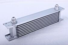 9 Row Oil Cooler 3/4 16 UNF Universal Racing Kit Engine Alloy Race Silver NEW