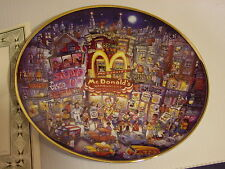 Franklin Mint, MCDONALDS, THE GOLDEN APPLE Collector Plate, #HB5530