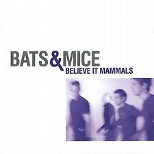 Believe it Mammals; Bats & Mice 2002 CD, Indie Rock, Sleepytime Trio, Lovitt Ver