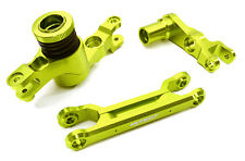 C26944GREEN Billet Machined Steering Bell Crank Set for Traxxas X-Maxx 4X4