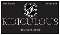 NHL Hobby Box RIDICULOUS Memorabilia Edition 12 item per box Hockey with COA