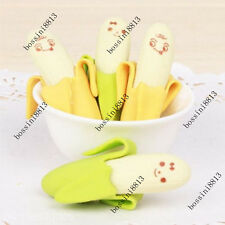 Cool Novelty Banana Rubber Pencil Eraser Stationery Children Kid EncourageToy 4X