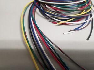 ul1007 1007 1569 18 AWG Gauge Stranded Hook Up Wire Kit 5 ft Ea 9 Color 300V