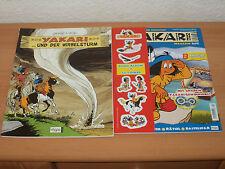 Comic YAKARI Band 8 YAKARI UND DER WIRBELSTURM + MAGAZIN + 44 Sticker NEU!