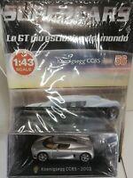 KOENIGSEGG CC8S 2002 SUPERCARS GT C. 1:43 #56 - DIE CAST MIB