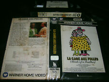 VHS *LA CAGE AUX FOLLES (1979)* Pre Cert Rental Only First Issue - Cult Classic!