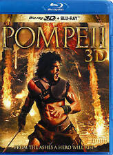 Pompeii (Blu-ray/3D, 2014, Canadian)