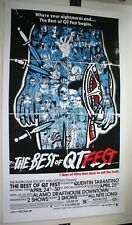 Tyler Stout Best of QT Fest Poster Print 2006 Signed/Numbered x/105 RARE Mondo