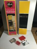 Vintage Sindy Eastham E-line Wall Oven With Accessories Within Original Box