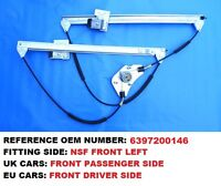 VITO/VIANO W639 FRONT RIGHT UK DRIVER SIDE COMPLETE WINDOW REGULATOR SET