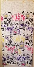 Birds Bird Cage Flowers Floral 100% Polyester Shower Curtain FREE SHIPPING