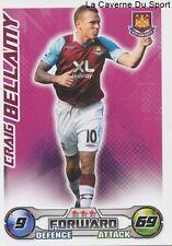 CRAIG BELLAMY # WALES WEST HAM CARDIFF CITY.FC CARD PREMIER LEAGUE 2009 TOPPS