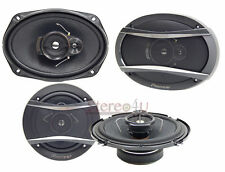 "Pioneer 6"" x 9"" 3-Way 420W  & 6.5"" 3-Way 320W Car Coaxial Speaker (2 pairs)"
