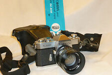 YASHICA AUTO YASHINON-DS 50mm 1:1.4 LENS w/ YASHICA TL SUPER CAMERA