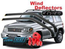 MITSUBISHI PAJERO PININ 1998 - 2007  3.doors Wind deflectors HEKO 23373