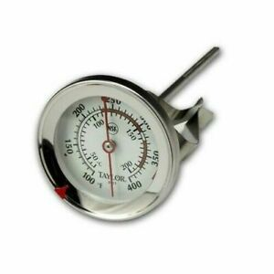 Taylor 5911N Classic Easy To Read Candy Deep Fryer Jelly Thermometer