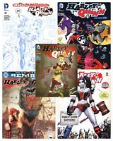 HARLEY QUINN Lot of 5 Variant Covers DC Comics 2013 & 2016